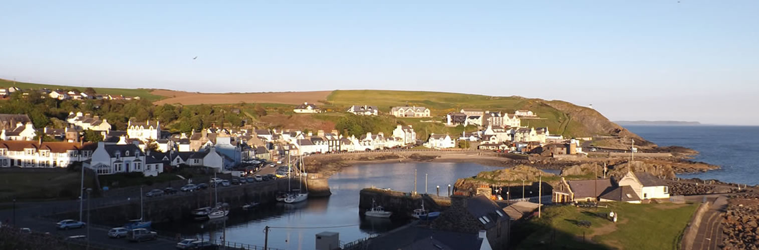 Summer in Dumfries and Galloway - Portpatrick