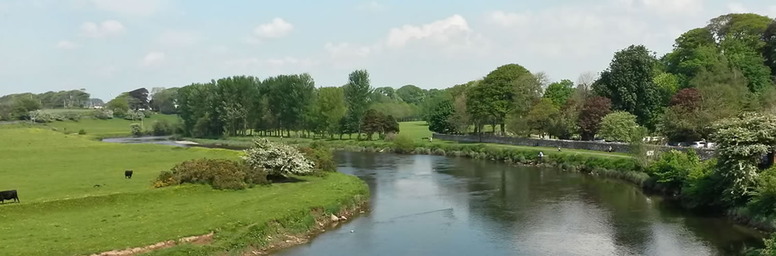 Summer in Dumfries and Galloway - River Annan