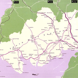 Maps Dumfries And Galloway